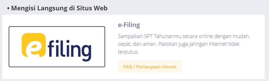 cara lapor STP online